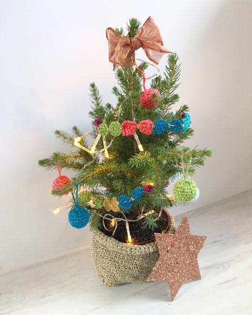 Vrolijk DIY kerstboompje